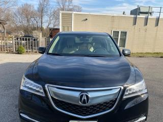 Used 2016 Acura MDX Nav Pkg for sale in Waterloo, ON
