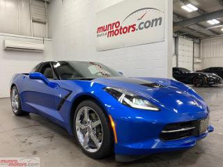 Used 2015 Chevrolet Corvette 2dr Stingray Cpe w-3LT NAV PDR NPP Chrome Wheels for sale in St. George, ON