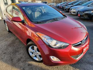 Used 2012 Hyundai Elantra GLS/ROOF/BLUETOOTH/LOADED/ALLOYS for sale in Scarborough, ON