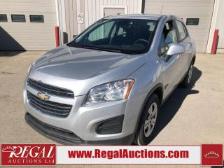 Used 2016 Chevrolet Trax LS 4D Utility 2WD 1.4L for sale in Calgary, AB
