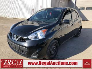 Used 2018 Nissan Micra SV 5D Hatchback AT 1.6L for sale in Calgary, AB