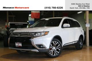 Used 2016 Mitsubishi Outlander ES 4WD - LEATHER|SUNROOF|BACKUP CAMERA|HEATED SEAT for sale in North York, ON