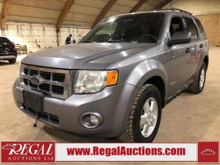 Used 2008 Ford Escape XLT 4D Utility for sale in Calgary, AB