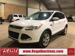 Used 2016 Ford Escape SE 4D Utility for sale in Calgary, AB