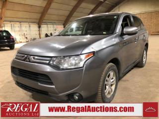 Used 2014 Mitsubishi Outlander 4D Utility AWD for sale in Calgary, AB