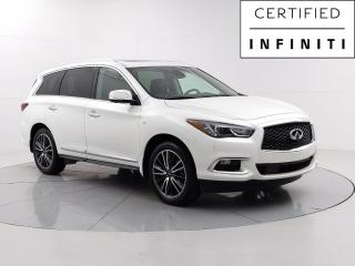 Used 2019 Infiniti QX60 ProACTIVE Accident Free, Bose Audio, Navigation, Moonroof, Theater for sale in Winnipeg, MB