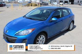 Used 2013 Mazda MAZDA3 GX CERTIFIED - NEW TIRES for sale in Regina, SK