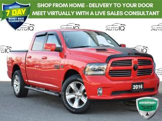 Used 2016 RAM 1500 Sport 1 owner trade for sale in St. Thomas, ON