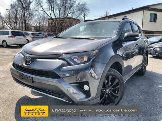 Used 2018 Toyota RAV4 XLE TRAIL EDITION  ALLOYS  ROOF  BLIS for sale in Ottawa, ON