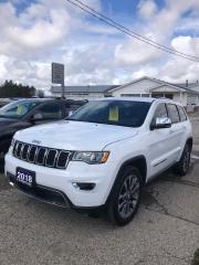 Used 2018 Jeep Grand Cherokee Limited ONE OWNER with POWER SUNROOF for sale in Petrolia, ON