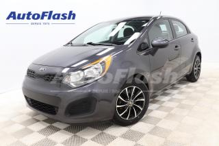 Used 2014 Kia Rio LX+ *HATCHBACK *AUTO *CRUISE* BLUETOOTH *A/C for sale in Saint-Hubert, QC