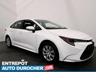 Used 2020 Toyota Corolla AUTOMATIQUE - CAMÉRA DE RECUL - CLIMATISEUR for sale in Laval, QC