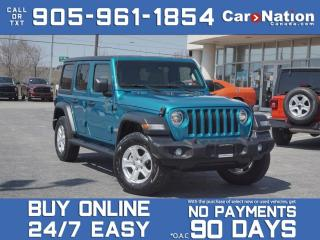 Used 2020 Jeep Wrangler Unlimited Sport S 4x4| COMPANY DEMO| SOLD | SOLD | for sale in Burlington, ON