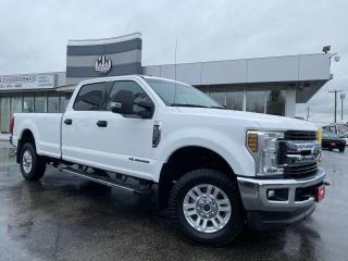 Used 2018 Ford F-350 XLT 4WD LB CREW DIESEL PWR SEAT BIG SCREEN for sale in Langley, BC