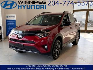 Used 2018 Toyota RAV4 XLE - Pre-Collision system, Pedestrian warning, Backup camera for sale in Winnipeg, MB