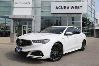 Used 2020 Acura TLX Tech A-Spec w/Red Leather for sale in London, ON