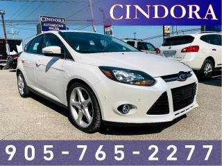 Used 2012 Ford Focus Titanium, Auto, Leather, Sunroof, NAV for sale in Caledonia, ON