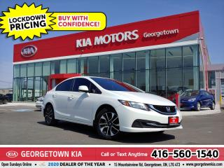 Used 2013 Honda Civic EX | CLN CRFX| B/U CAM | SUNROOF| HTD SEATS| TINTS for sale in Georgetown, ON