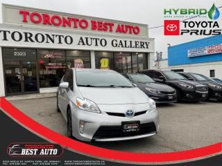 Used 2014 Toyota Prius 5dr HB HYBRID! BACKUP CAM! RIMS! JUST ARRIVED! for sale in Toronto, ON