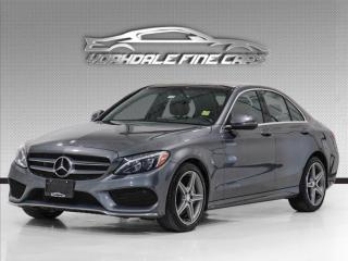 Used 2017 Mercedes-Benz C-Class C300 4MATIC , Burmester Sound, Navigation, Panoramic for sale in Concord, ON