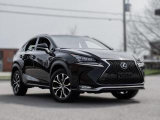 Used 2017 Lexus NX 200t F -SPORT | NAV |BACKUP | ROOF | RED INT | CLEAN CARFAX for sale in North York, ON