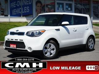 Used 2016 Kia Soul LX  BLUETOOTH S/W-AUDIO PWR-GROUP A/C for sale in St. Catharines, ON