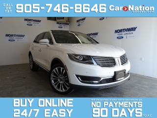 Used 2016 Lincoln MKX RESERVE | AWD | TECH PKG | ROOF | NAV | 21
