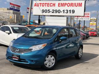 Used 2016 Nissan Versa Note SV Camera/bluetooth &GPS*$39/wkly for sale in Mississauga, ON