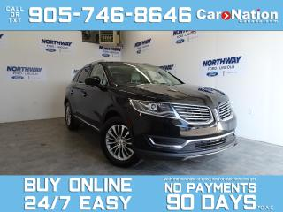 Used 2016 Lincoln MKX SELECT PLUS PKG | AWD | NAV | LEATHER | PANO ROOF for sale in Brantford, ON