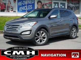 Used 2016 Hyundai Santa Fe Sport 2.0T Limited  NAV CAM ROOF 19-AL for sale in St. Catharines, ON