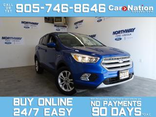Used 2019 Ford Escape SE | 4X4 | TOUCHSCREEN | REAR CAM | NEW CAR TRADE for sale in Brantford, ON