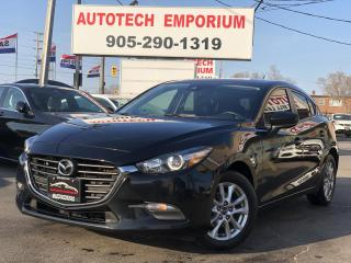 Used 2018 Mazda MAZDA3 GS SPORT Hatchback Htd Seats&Steering/Alloys/Navigation/Camera for sale in Mississauga, ON