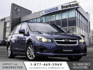 Used 2013 Subaru Impreza AUTO HATCHBACK HEATED SEAT BLUETOOTH CLEAN CARFFAX for sale in Scarborough, ON