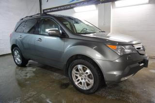 Used 2009 Acura MDX TECH AWD 7 PSSNGRS NAVI CAMERA DVD CERTIFIED 2YR WARRANTY BLUETOOTH SUNROOF HEATED LEATHER MEMORY POWER SEAT for sale in Milton, ON