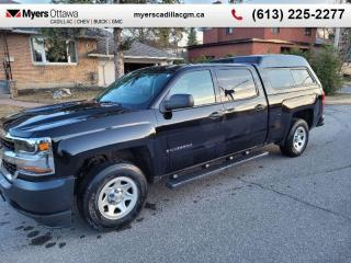 Used 2017 Chevrolet Silverado 1500 WT  *PRE SALE* W/T, CREW CAB, 5.3 V8, 4X4, TRAILER PACK, CAP INCLUDED for sale in Ottawa, ON
