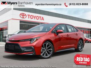 New 2021 Toyota Corolla SE Upgrade Package  - Navigation - $177 B/W for sale in Ottawa, ON
