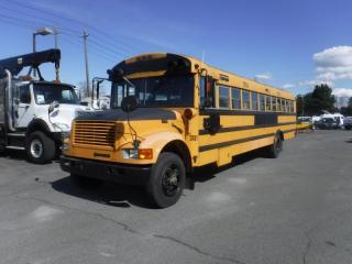 Used 1995 International 3800 DT 466 48 Passenger Diesel Thomas School Bus With Air Brakes for sale in Burnaby, BC