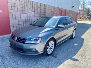 Used 2016 Volkswagen Jetta HIGHLINE | BLIND SPOT ASSIST | BACKUP CAM | SUNROOF | for sale in Barrie, ON