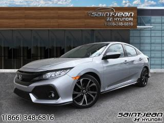 Used 2017 Honda Civic Hatchback Sport / MAGS + ANGLE MORT + COLLISION for sale in Saint-Jean-sur-Richelieu, QC