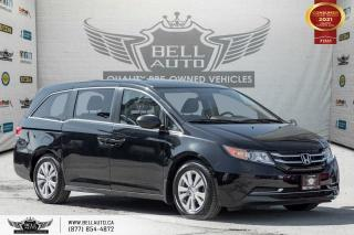 Used 2016 Honda Odyssey SE, NO ACCIDENT, REAR CAM, 8 PASS, ALLOY, PWR SEAT for sale in Toronto, ON