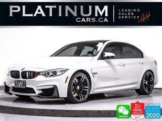 Used 2015 BMW M3 425HP, DRIVERS PKG, HUD, NAV, HEATED,HARMAN/KARDON for sale in Toronto, ON