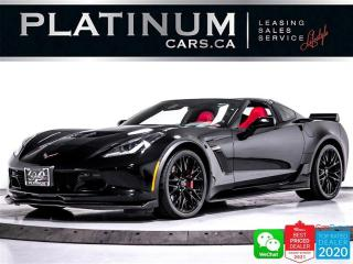 Used 2017 Chevrolet Corvette Z06, 2LZ, 650HP, NAV, PDR, BOSE, CAM,HEATED/VENTED for sale in Toronto, ON