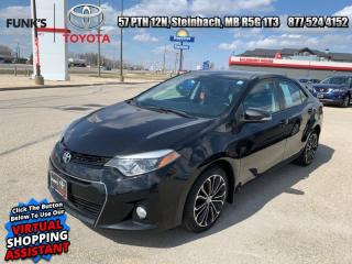 Used 2014 Toyota Corolla 4dr Sdn CVT S for sale in Steinbach, MB