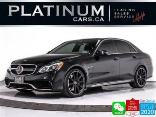 Used 2016 Mercedes-Benz E-Class AMG E63 S, 577HP, DISTRONIC PLUS, NAV, CAM, PANO for sale in Toronto, ON