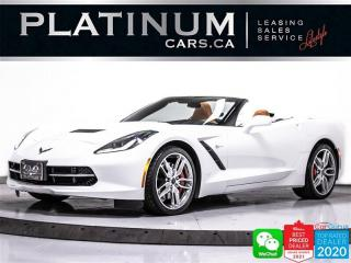 Used 2016 Chevrolet Corvette STINGRAY Z51 3LT, 450HP, CONVERTIBLE, PDR, HEATED for sale in Toronto, ON