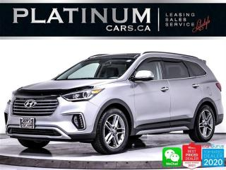Used 2017 Hyundai Santa Fe SE, LIMITED, 7 SEAT, NAV, CAM, HEATED, VENTED, BT for sale in Toronto, ON