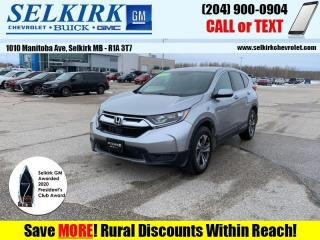 Used 2017 Honda CR-V LX  *LOW KMS, HEATED SEATS* for sale in Selkirk, MB