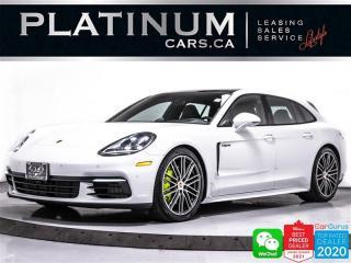 Used 2019 Porsche Panamera 4 E-Hybrid Sport Turismo, 457HP, PREM PKG PLUS,NAV for sale in Toronto, ON