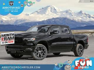 New 2021 RAM 1500 Limited  - Night Edition - Sunroof - $556 B/W for sale in Abbotsford, BC