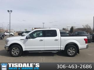 Used 2019 Ford F-150 Lariat   - Leather Seats -  Cooled Seats for sale in Kindersley, SK